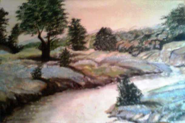 Landscape- by Indira