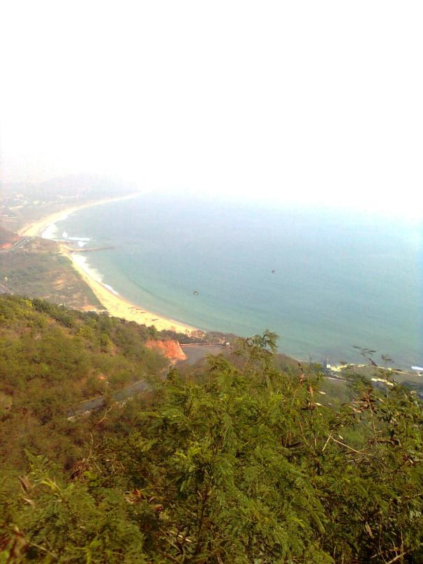Sea view from Kailashgiri Hills