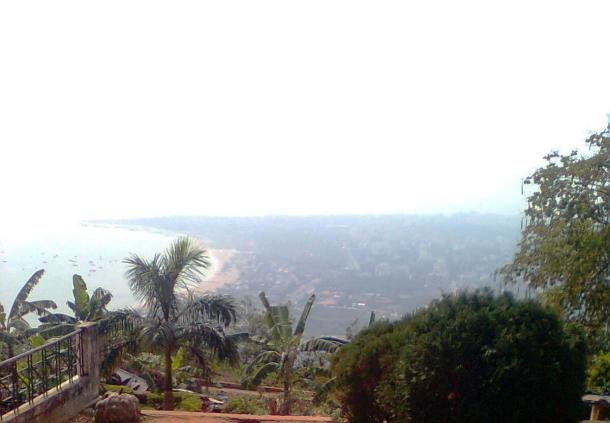 Looking down to Visakhapatnam City And Bay of Bengal From Kailashgiri Hill