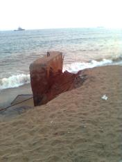 sea beach erosion still going on