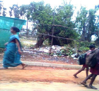 Children going home