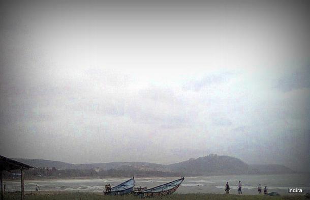 Rushikonda beach, Visakhapatnam