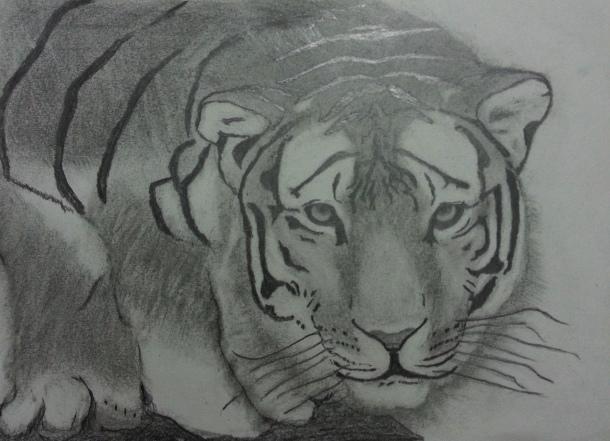 sketch by Raja Mukherjee