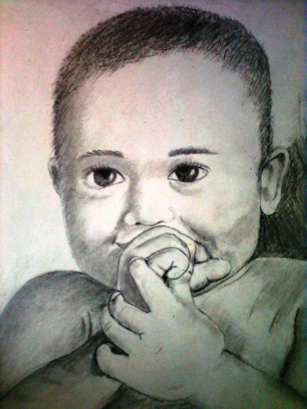sketch by indira