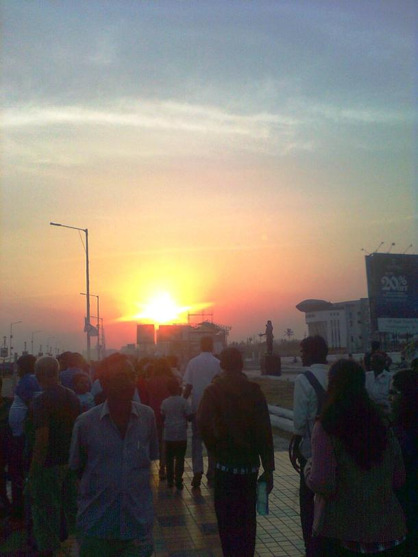 Sunset- Visakhapatnam
